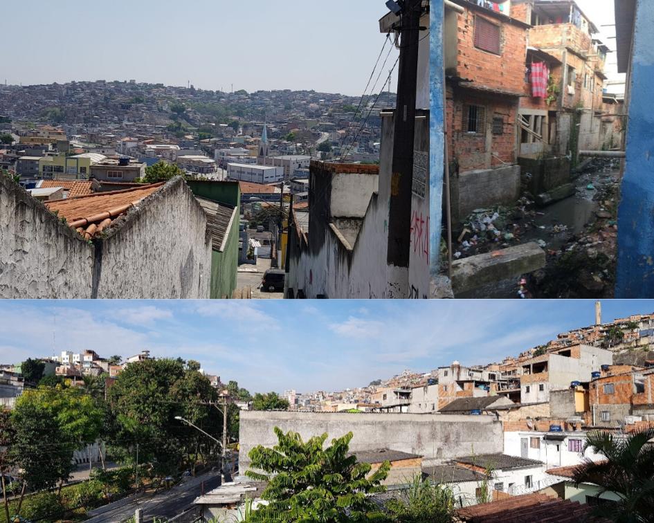 The neighbourhood of M'Boi Mirim in São Paulo